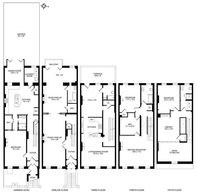30 South Portland Ave, Brooklyn, New York, $5,250,000, Web #: 13841400