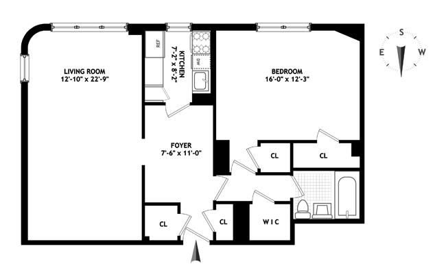 181 East 73rd Street, Upper East Side, NYC, $795,000, Web #: 13988453
