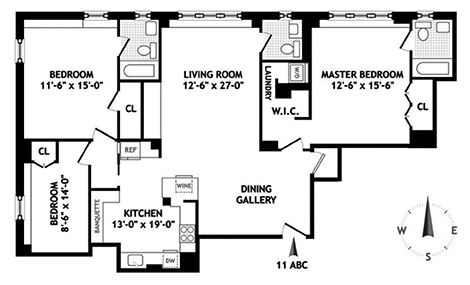 157 East 72nd Street 11Abc, Upper East Side, NYC, $10,950, Web #: 14028673