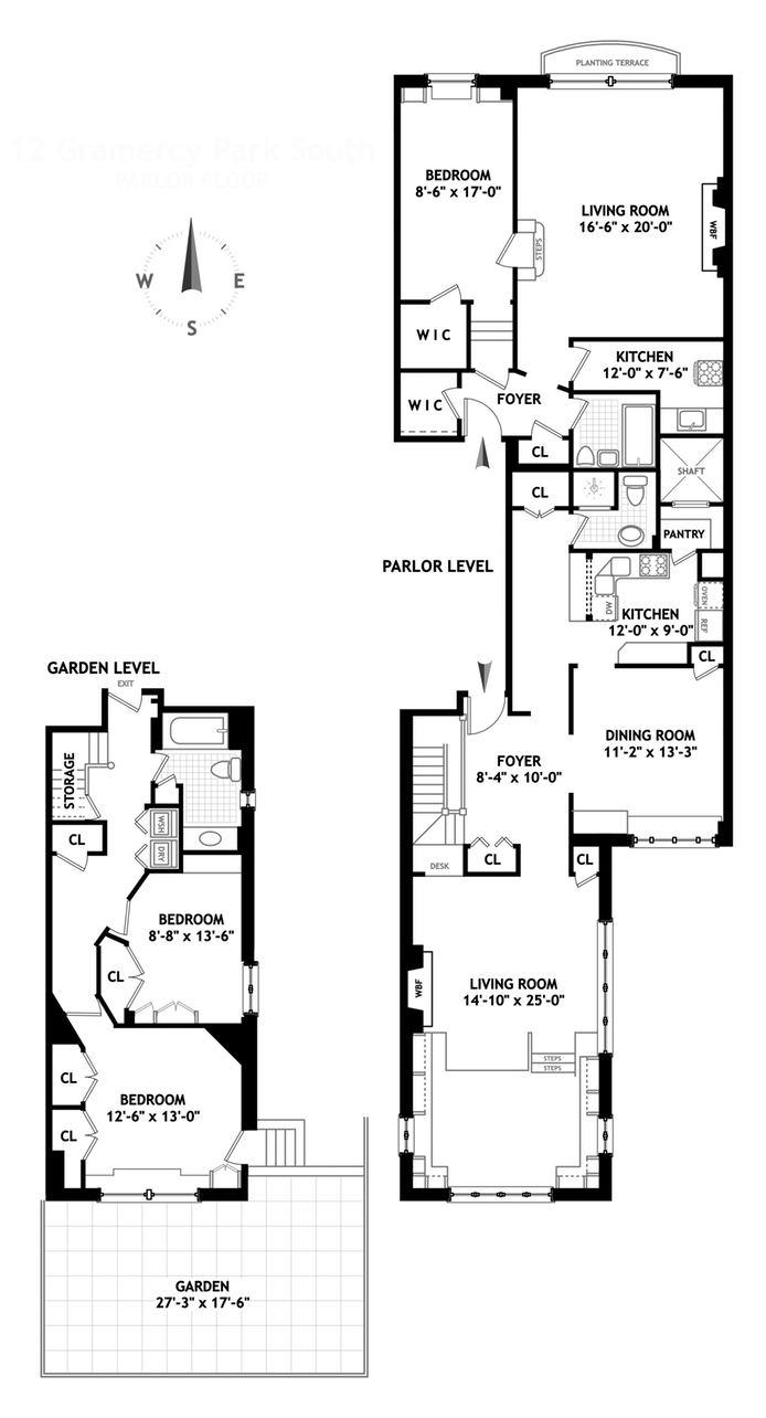 12 Gramercy Park S, East Village, NYC, $4,150,000, Web #: 14094508