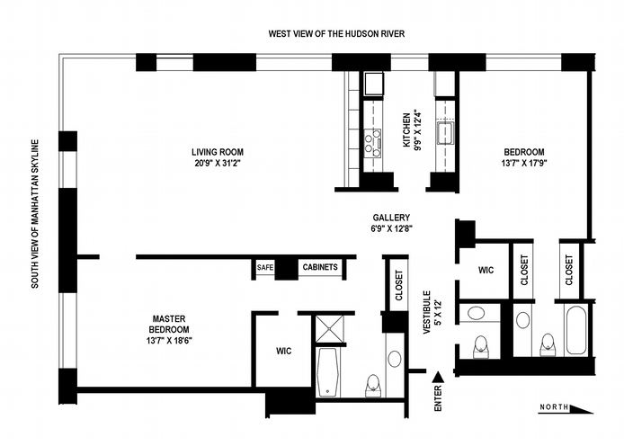 15 West 53rd Street, Midtown West, NYC, $3,450,000, Web #: 14158711