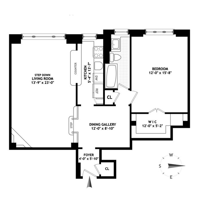 411 West End Avenue, Upper West Side, NYC, $925,000, Web #: 14215484