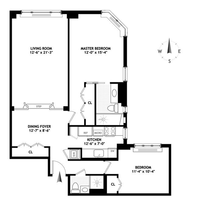 170 East 77th Street, Upper East Side, NYC, $1,800,000, Web #: 14237441