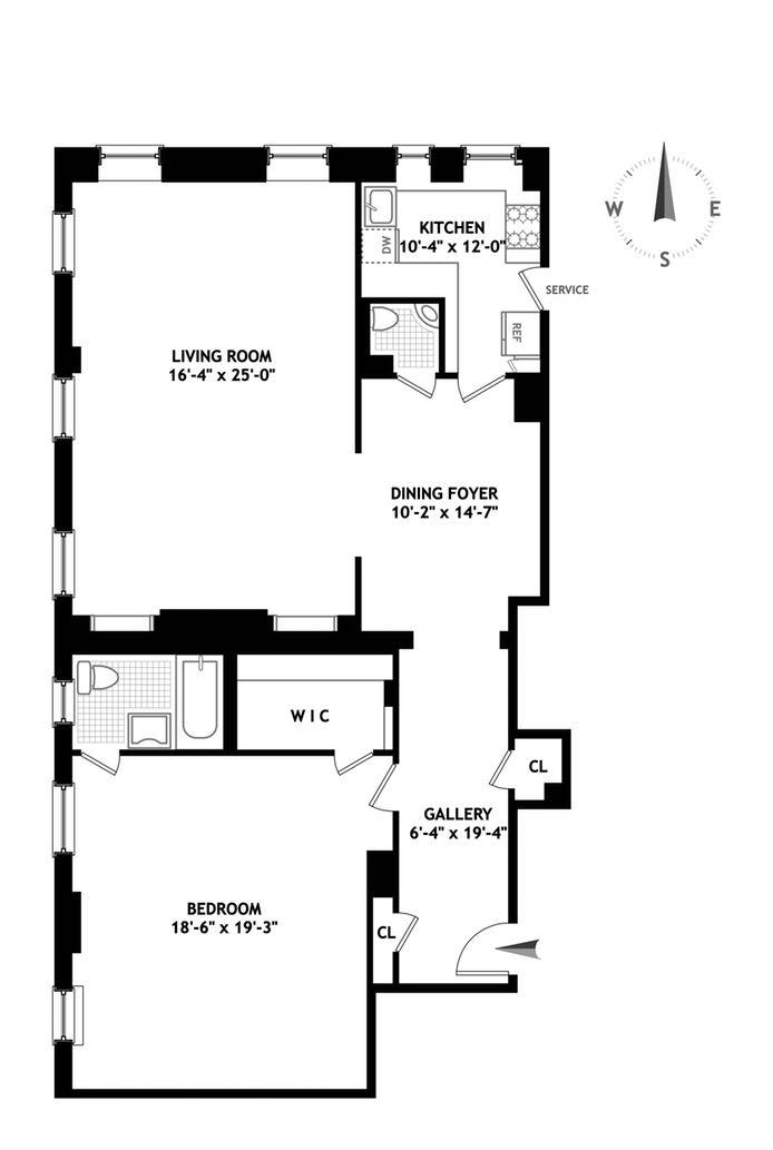447 East 57th Street, Midtown East, NYC, $1,250,000, Web #: 14241755