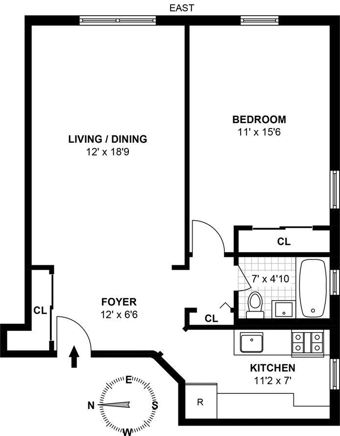 385 East 16th Street, Brooklyn, New York, $398,000, Web #: 14242007