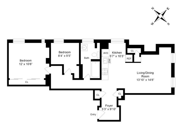 855 West End Avenue, Upper West Side, NYC, $865,000, Web #: 14330007