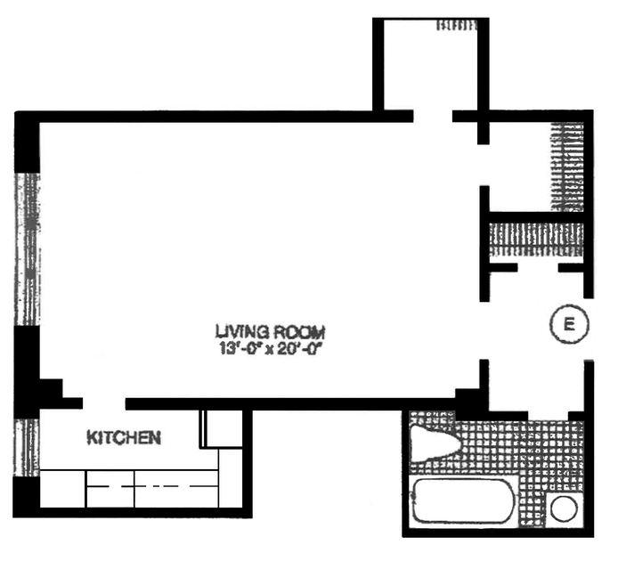 2 Horatio Street, West Village, NYC, $680,000, Web #: 14336290