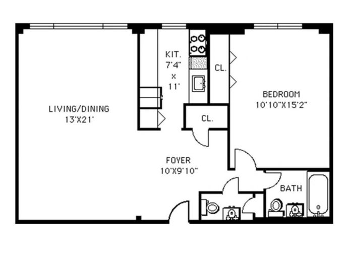 233 East 69th Street, Upper East Side, NYC, $680,000, Web #: 14341906