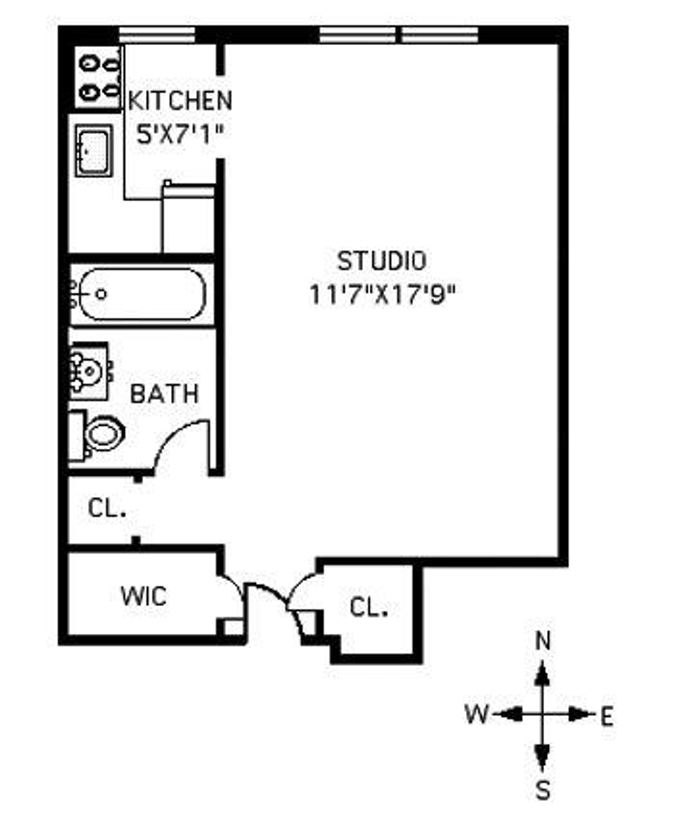 342 East 53rd Street, Midtown East, NYC, $325,000, Web #: 14407936