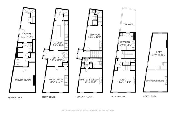 2 Sidney Place, Brooklyn Heights, New York, $3,650,000, Web #: 14431007