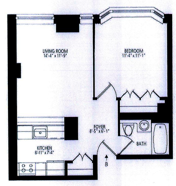 400 East 90th Street, Upper East Side, NYC, $2,775, Web #: 14442975