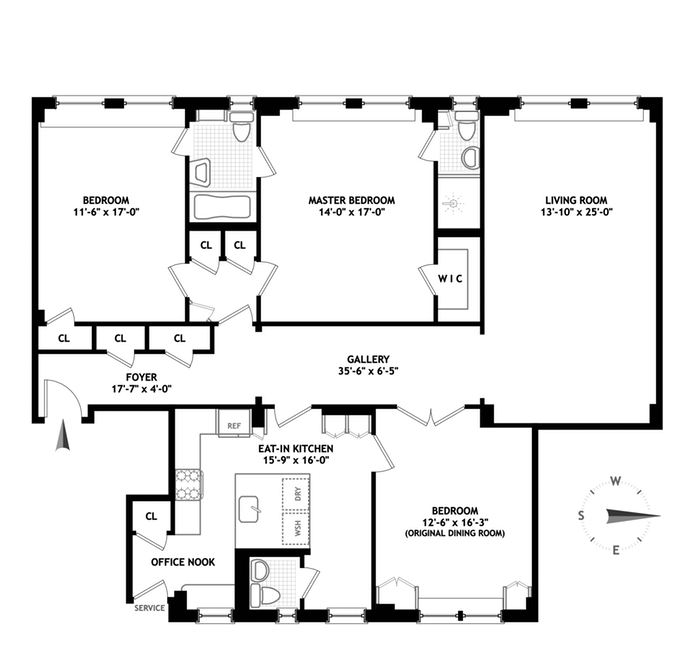800 West End Avenue, Upper West Side, NYC, $2,000,000, Web #: 14459723