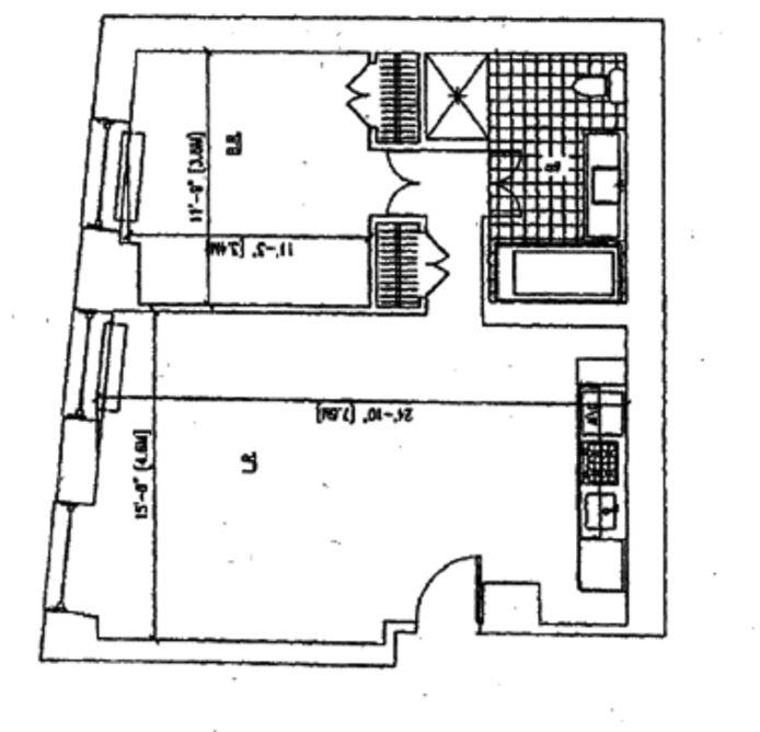 20 Pine Street, Financial District, NYC, $998,500, Web #: 14467468