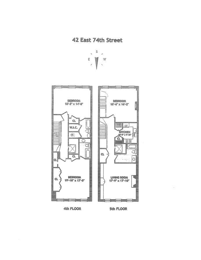 42 East 74th Street, Upper East Side, NYC, $0, Web #: 14468085