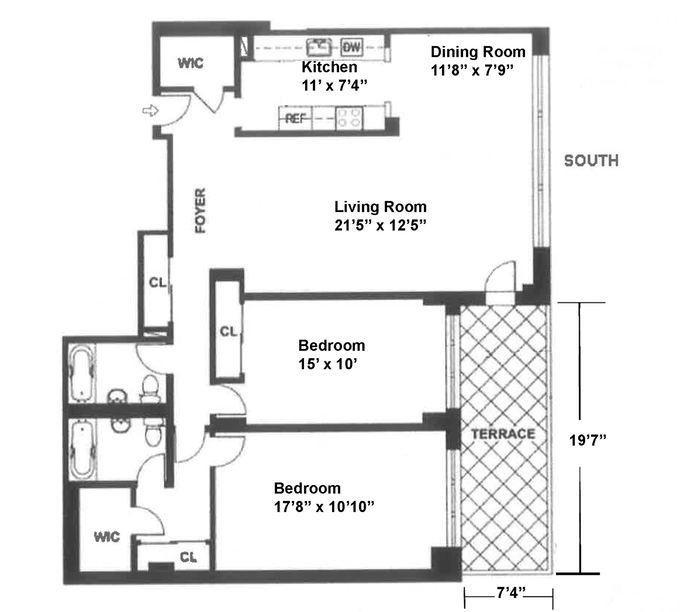 235 East 87th Street, Upper East Side, NYC, $1,150,000, Web #: 14498263