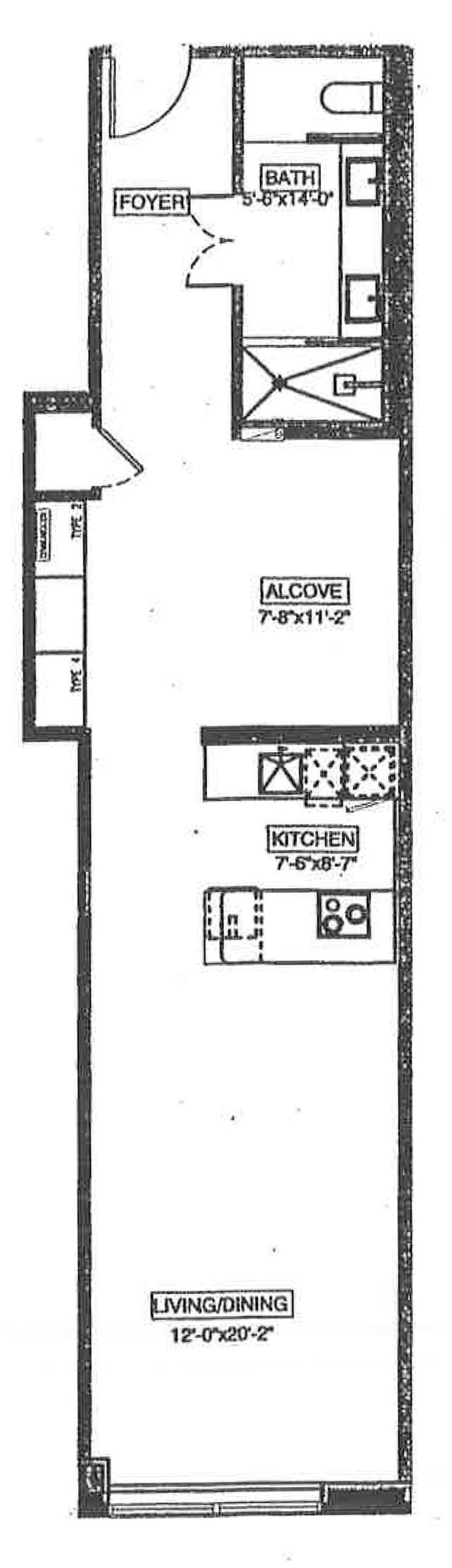 111 Fulton Street, Civic Center/Two Bridges, NYC, $900,000, Web #: 14540749