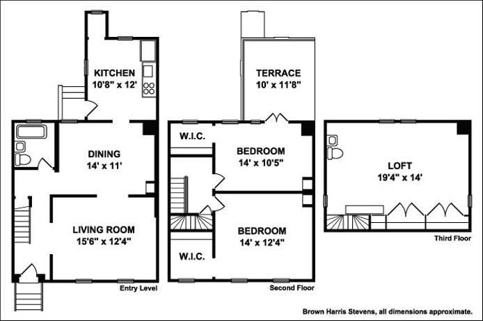 Townhouse C  1860 In Williamsburg, Brooklyn, New York, $1,115,000, Web #: 14553584