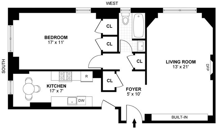 308 East 79th Street, Upper East Side, NYC, $685,000, Web #: 14633878