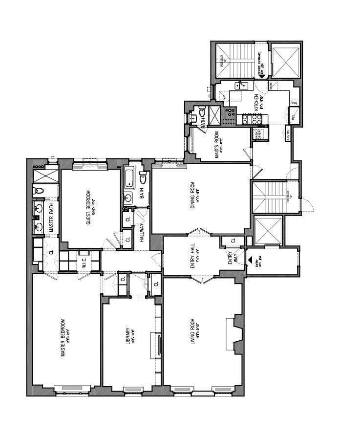30 Sutton Place, Midtown East, NYC, $3,050,000, Web #: 14651433