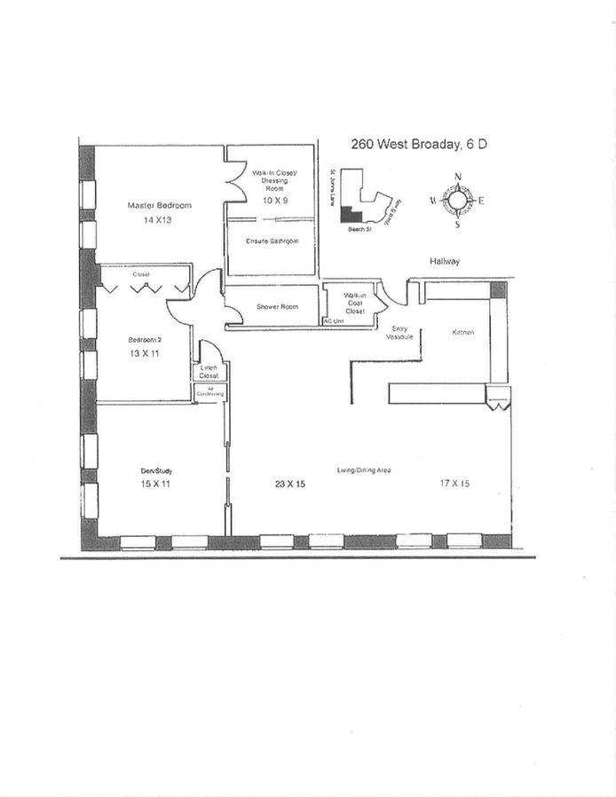 260 West Broadway 6D, Tribeca/SOHO/Chinatown, NYC, $12,000, Web #: 14747593
