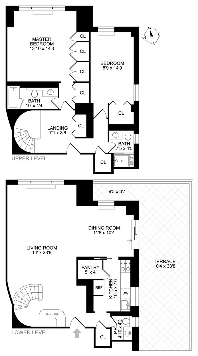 520 East 72nd Street 17 18B, Upper East Side, NYC, $1,595,000, Web #: 14766138