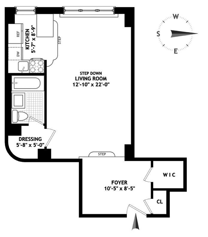 123 East 37th Street, Midtown East, NYC, $2,350, Web #: 14812140