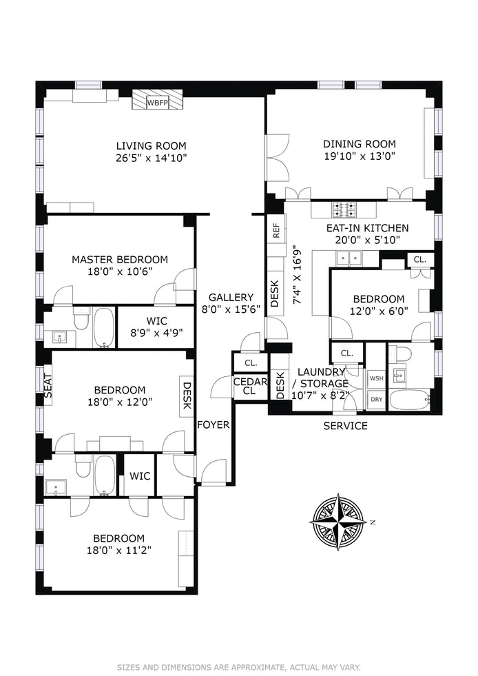 1088 Park Avenue 11F, Upper East Side, NYC, $4,250,000, Web #: 14898912