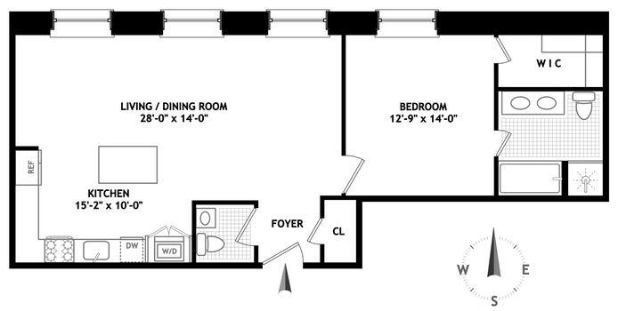 655 Sixth Avenue, Flatiron/Gramercy Park, NYC, $1,725,000, Web #: 14935170