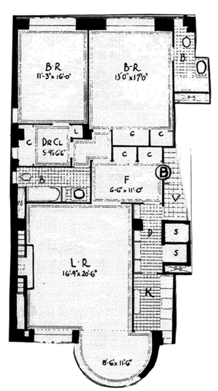 24 West 55th Street, Midtown West, NYC, $1,100,000, Web #: 14951332