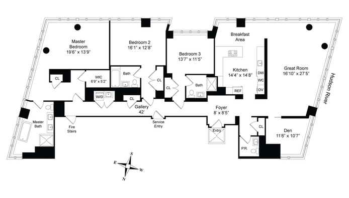 150 Charles Street, West Village, NYC, $35,000, Web #: 14965240