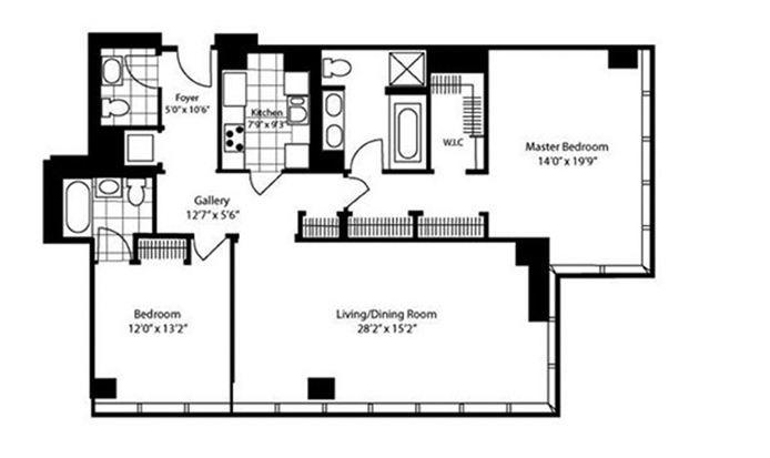 151 East 58th Street, Midtown East, NYC, $15,500, Web #: 15047855