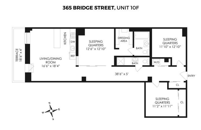 365 Bridge Street, Brooklyn, New York, $1,250,000, Web #: 15122749