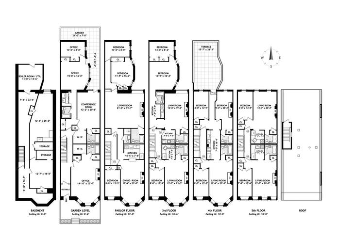 43 West 75th Street, Upper West Side, NYC, $12,250,000, Web #: 15174069