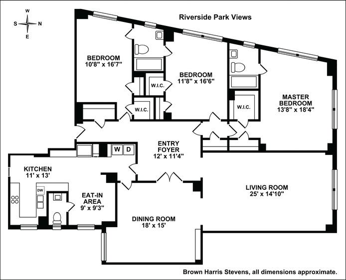 285 Riverside Drive, Upper West Side, NYC, $2,535,000, Web #: 15211472