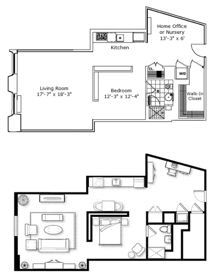 15 Broad Street 902, Financial District, NYC, $3,650, Web #: 15216938