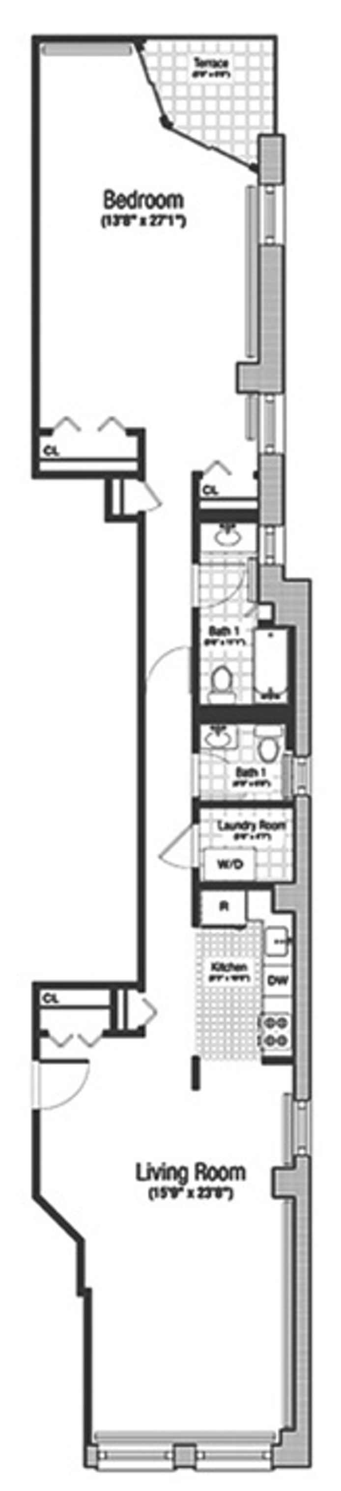36 Laight Street Ph A, Tribeca/SOHO/Chinatown, NYC, $6,250, Web #: 15241352