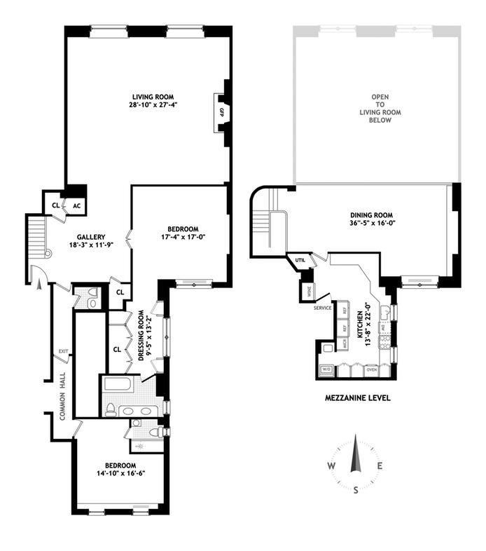 322 East 57th Street, Midtown East, NYC, $2,200,000, Web #: 15247422