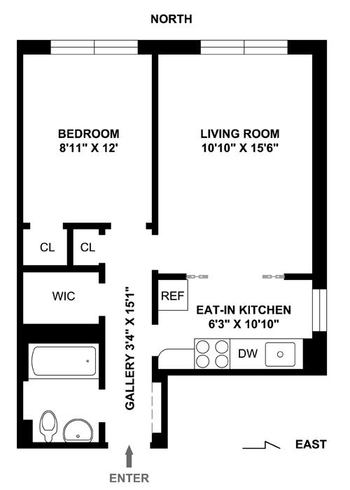 38 Gramercy Park North, East Village, NYC, $575,000, Web #: 1536257