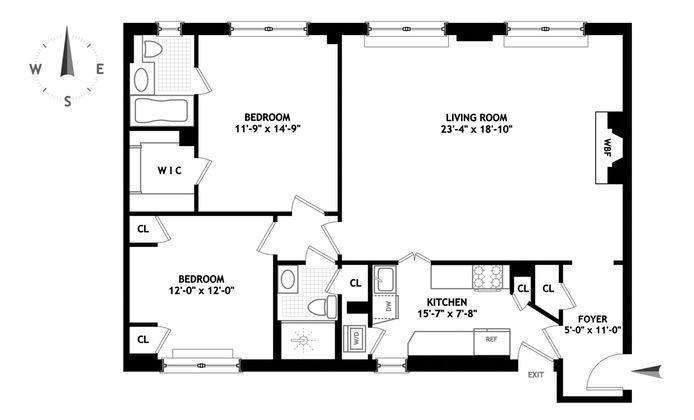 125 East 63rd Street, Upper East Side, NYC, $1,725,000, Web #: 15389006