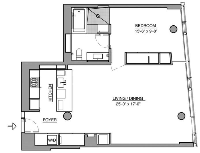 1 Grand Army Plaza 2K, Brooklyn, New York, $4,200, Web #: 15406990