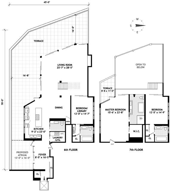120 Eleventh Avenue, Greenwich Village/Chelsea, NYC, $6,900,000, Web #: 1541344