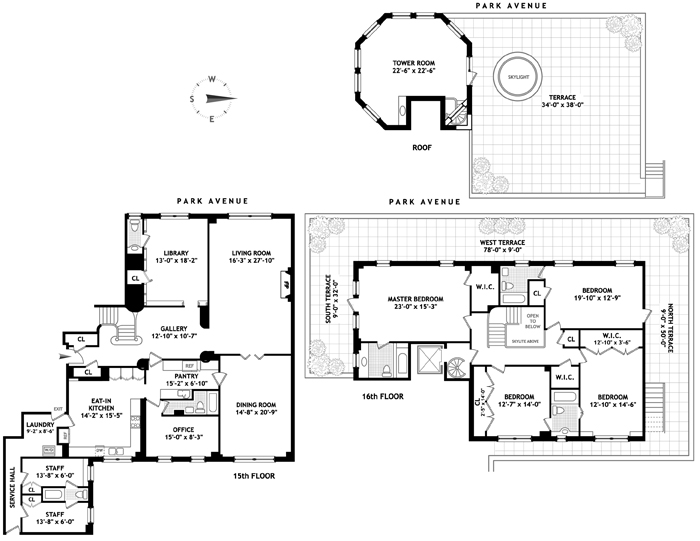 941 Park Avenue, Upper East Side, NYC, $13,750,000, Web #: 1543976
