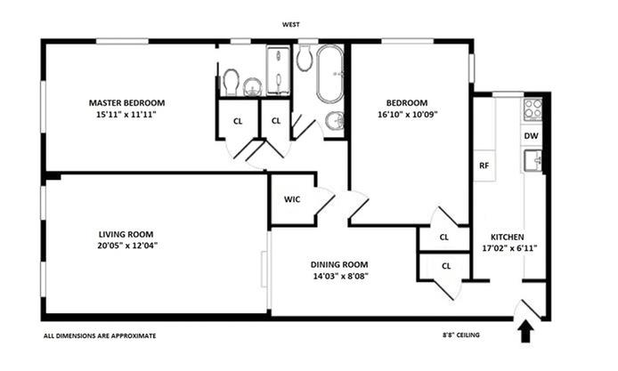 303 East 37th Street, Midtown East, NYC, $770,000, Web #: 15444307