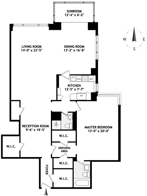 150 East 69th Street, Upper East Side, NYC, $1,255,000, Web #: 1547163