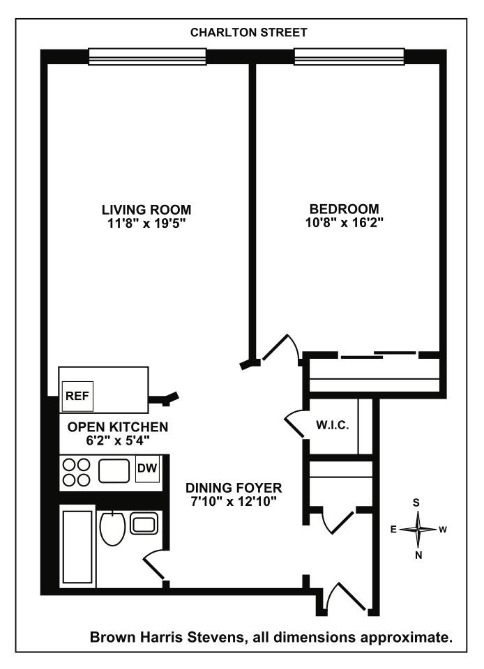 11 Charlton Street, West Village, NYC, $880,000, Web #: 15516903