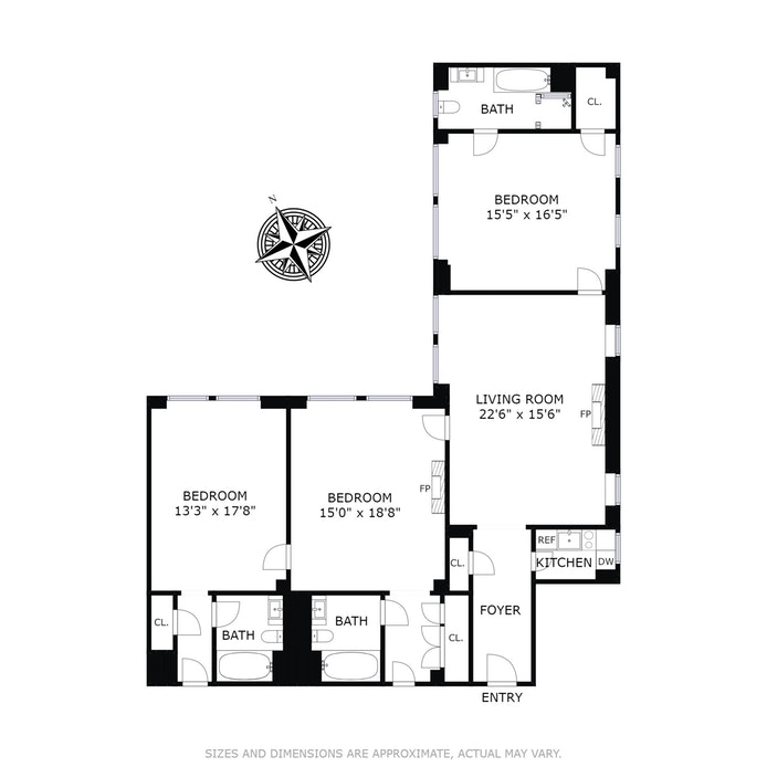 781 Fifth Avenue 1114/15/16, Upper East Side, NYC, $3,200,000, Web #: 15517694