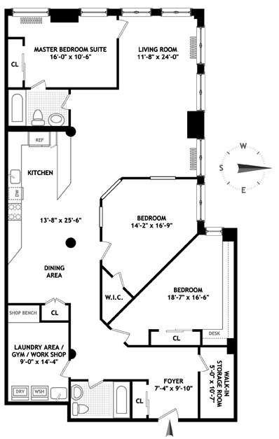 74 Fifth Avenue, Greenwich Village/Chelsea, NYC, $1,950,000, Web #: 1556725