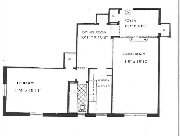 300 West 72nd Street, Upper West Side, NYC, $640,000, Web #: 15603118