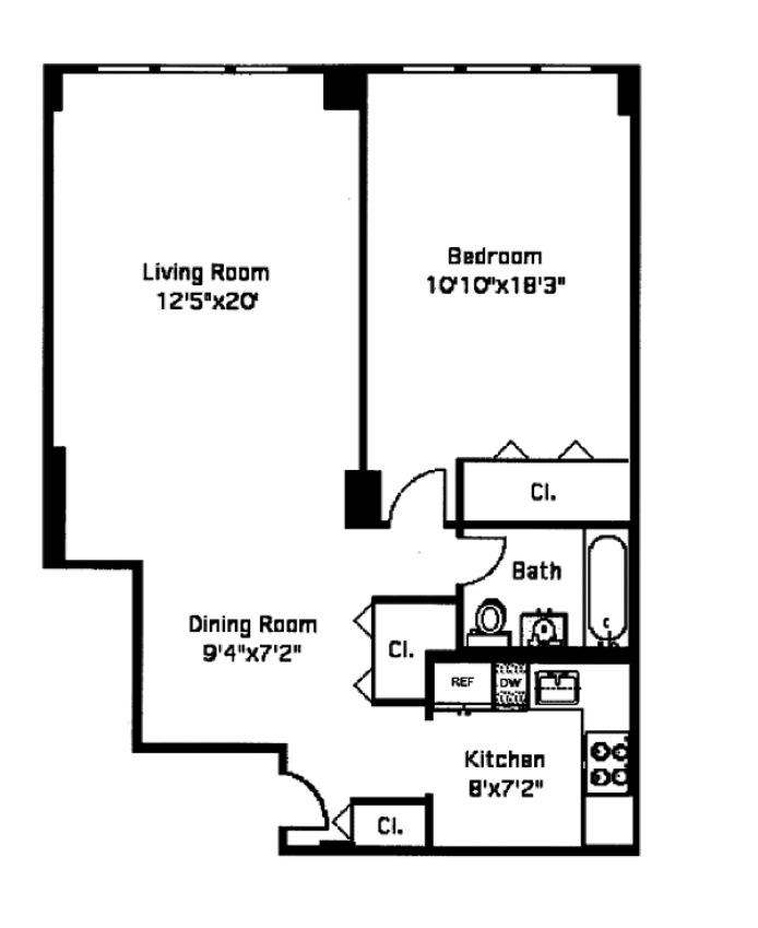 40 Clinton Street 9L, Brooklyn, New York, $645,000, Web #: 15702744