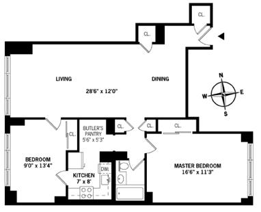 400 East 85th Street, Upper East Side, NYC, $675,000, Web #: 1570562